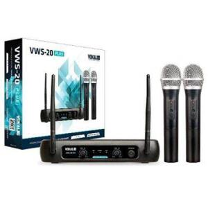 [50% AME] Microfone Sem Fio Duplo - Vws20 Plus - Vokal - R$269