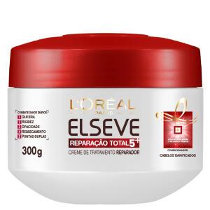 L'Oréal Paris Elseve Reparação Total 5+ - Creme de Tratamento - 300g | R$13