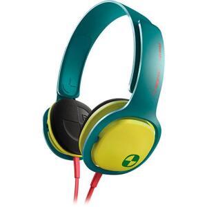 Fone de Ouvido Philips SHO3300ACID/00 Verde e Amarelo