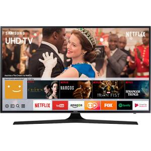 "Smart TV LED 40"" Samsung 40MU6100 UHD 4K HDR Premium com Conversor Digital 3 HDMI 2 USB 120Hz por R$ 1459"