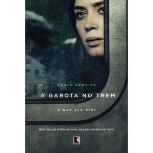 (AME 40%) Garota No Trem (capa Do Filme) - 1ª Ed. (com AME 14,39)