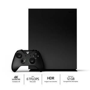 Console Microsoft Xbox One X 1TB 4K | R$1974