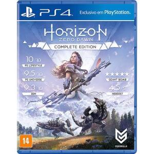 [AME R$48] Game Horizon Zero Dawn Complete Edition - PS4
