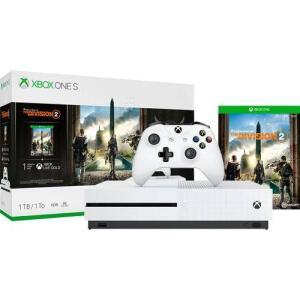 [AME R$ 1.104,00] - Console XBOX ONE S 1TB + 1 Jogo The Division 2 + Controle sem Fio - Microsoft