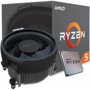 PROCESSADOR AMD RYZEN 5 1600 3.2GHZ (3.6GHZ TURBO), 6-CORE 12-THREAD, COOLER WRAITH SPIRE, AM4, YD1600BBAEBOX - R$619