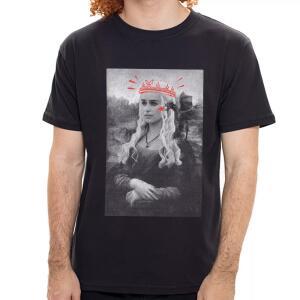 Camiseta Louvre Queen - Masculino | R$40