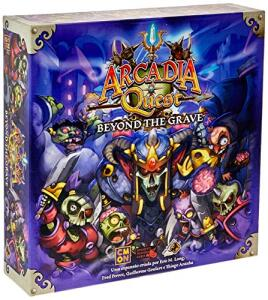 Arcadia Quest Beyond The Grave Galápagos Jogos | R$199