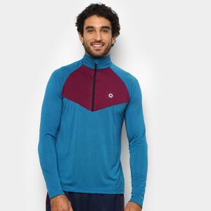 Blusão Área Sports True Masculino - Azul e Roxo R$40