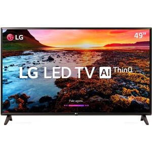 "Smart TV LED 49"" LG 49LK5700 Full HD com Conversor Digital 2 HDMI 1 USB Wi-Fi Webos 4.0 Quick Access 60Hz - R$1780"