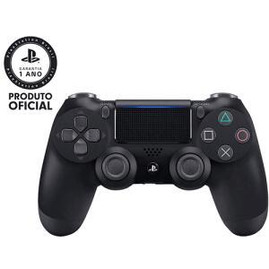 Controle sem Fio Dualshock 4 Sony PS4 - Preto - R$199