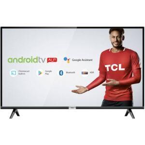 "Smart TV LED 32"" Android TCL 32s6500 HD Wi-Fi Bluetooth 1 USB 2 HDMI Controle Remoto com Google Assistente   R$837"