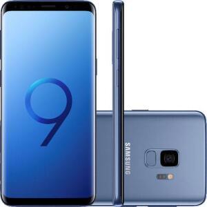 "Smartphone Samsung Galaxy S9 128GB Dual Chip Tela 5.8"" Octa-Core 2.8GHz por R$ 1999"