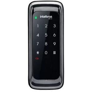 Fechadura Eletrônica Digital Intelbras FR 101 Preto | R$321