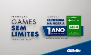 [P&G] Cadastre-se e concorra na hora a 1 ano de Xbox Live Gold