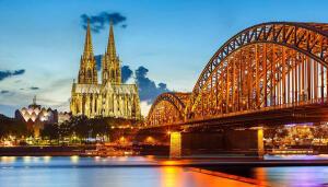Voos para Colônia, na Alemanha, saindo de Fortaleza. Ida e volta, com taxas incluídas, a partir de R$1.952