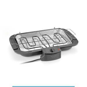 Churrasqueira elétrica Gourmet Preta Multilaser - 110V - R$69