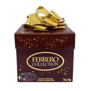 [APP - Retirada em Loja] Ferrero Collection Cubo Presente C/6 - R$10