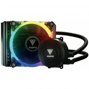 WATER COOLER GAMDIAS CHIONE E1A, RGB 120MM, INTEL-AMD | R$199