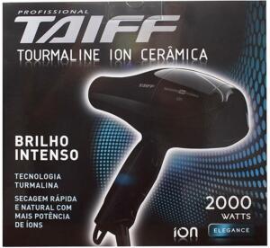 Clube da Lu - Secador Taiff Tourmaline Íon Cerâmica 2000w