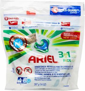 Lava roupas Ariel Pods com 16 pods R$ 9,98 - Loja física