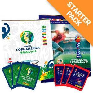 Albúm Copa América e Copa Feminina 2019 + 40 Envelopes