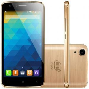 Smartphone Qbex X-Gold 16GB W509 Desbloqueado Dourado | R$237