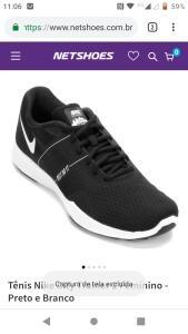 Tênis Nike City Trainer 2 Feminino - Preto e Branco