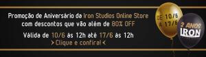 Site da Iron Studios com até 80% OFF