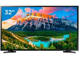"""Smart TV LED 32"""" Samsung J4290 Wi-Fi - Conversor Digital 2 HDMI 1 USB - R$997"""