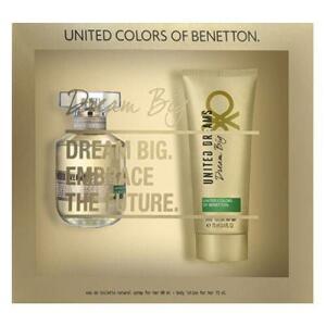 Benetton Dream Big Her Kit - Eau De Toilette + Loção Corporal (cupom +1x cc)