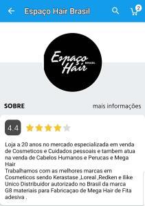 50% CASHBACK NA LOJA ESPAÇO HAIR BRASIL DO SUBMARINO