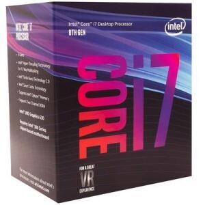 Processador Intel Core i7-8700 Coffee Lake, Cache 12MB, 3.2GHz (4.6GHz Max Turbo), LGA 1151 - BX80684I78700 - R$1420