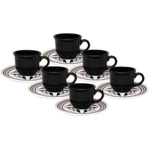 Conjunto de Xícaras para Café Oxford Daily Floreal Luiza com Pires 75ml – 6 Peças | R$55