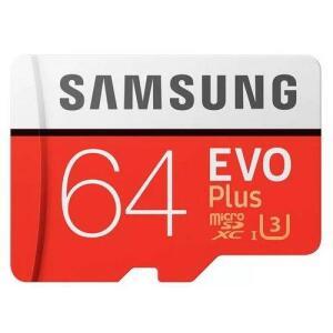 [AME] Cartão Micro Sd Sdxc Samsung Evo Plus 64gb 100mb/s U3 - R$99 (ou R$49 com Ame)