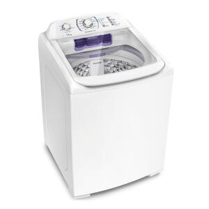 Lavadora Turbo Electrolux Branca com Capacidade Premium e Cesto Inox (LPR17) POR r$