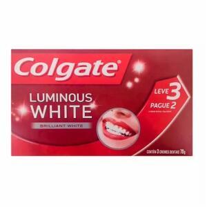 Kit Creme Dental Colgate Luminous White L3p2