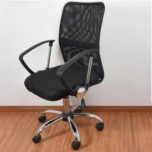 Cadeira Para Escritório Exeway, Preta | R$204