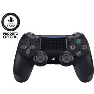 [AME] Controle sem Fio Dualshock 4 Sony PS4 - Preto - R$199 (ou R$175 com Ame)