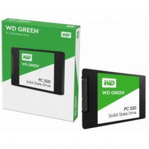SSD WD GREEN 1TB, SATA III, LEITURA 545MB/S E GRAVAÇÃO 430MB/S, WDS100T2G0A | R$609