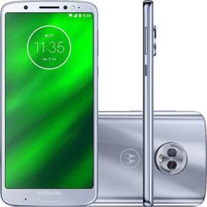 "Smartphone Motorola Moto G6 Plus 64GB Dual Chip Android Oreo - 8.0 Tela 5.9"" por R$ 1043"