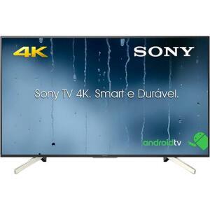"Imperdível! Smart TV 4K Android LED 49"" Sony KD-49X755F 4 HDMI 3 USB 60Hz - R$ 2150 (R$2043 com AME)"