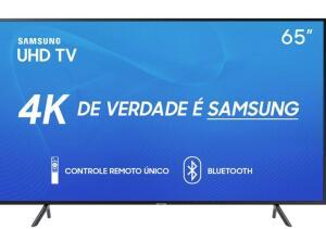 "Smart TV 65"" Samsung 65RU7100 ULTRA HD 4K"