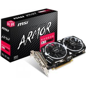 Placa De Vídeo MSI Radeon RX 570 4GB GDDR5 Armor OC 256-Bit, 912-V341-297 | R$600