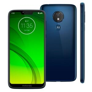 Smartphone Motorola Moto G7 Power Azul Navy