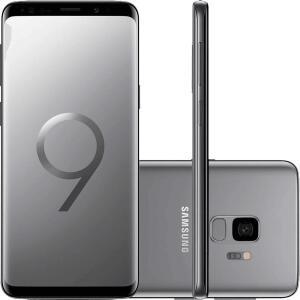 "[APP Americanas] Smartphone Samsung Galaxy S9 Dual Chip Android 8.0 Tela 5.8"" Octa-Core 2.8GHz 128GB 4G Câmera 12MP - Cinza - R$2059"