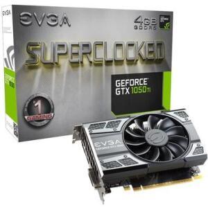 Placa de vídeo EVGA GTX 1050 TI SC Gaming 4GB GDDR5   R$700