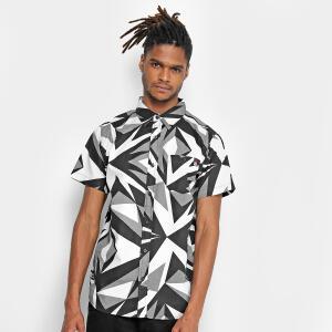 Camisa Ecko Manga Curta Estampada Masculina - Branco R$50