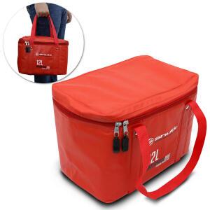 Bolsa Térmica Caixa Cooler Praia Viagem Churrasco Camping 12 Litros Shutt Impermeável Vermelha | R$39