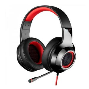 HEADSET GAMER EDIFIER G4 7.1 MULTI-CHANNEL USB PRETO/VERMELHO | R$ 286