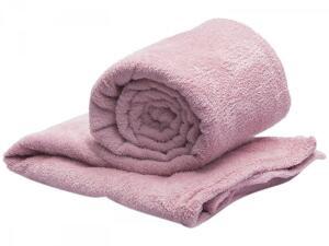 Manta Casal Microfibra Camesa - Rosê | R$28